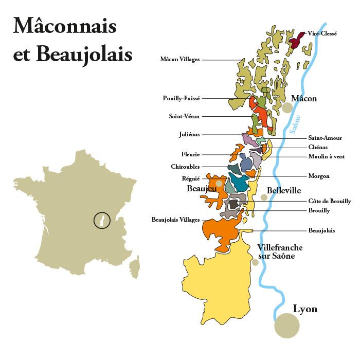 Mâconnais et Beaujolais